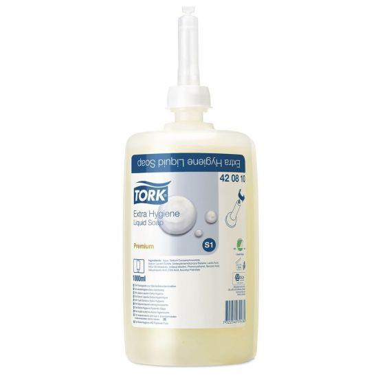 Tork Extra Hygiene Liquid Hand Soap 800ml - Box Of 6 SC1012