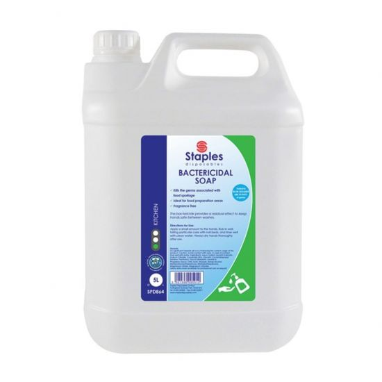 Bactericidal Non-Scented Hand Soap 5lt SC1023