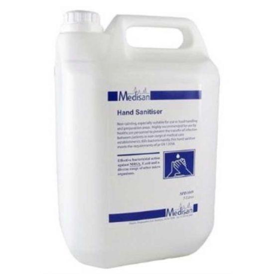 Medisan Alcohol Based Hospital Grade Hand Sanitiser 5lt SC2005