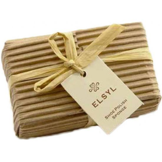 Elsyl Complimentary Shoe Shine Sponges In Corrugated Card - Box Of 500 SC5007