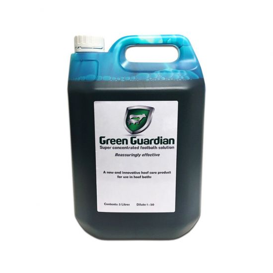 Green Guardian Super Concentrated Hoof Care & Footbath Solution 5lt SP4008