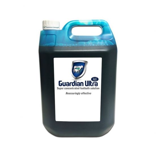 Guardian Ultra Super Concentrated Hoof Care & QUAT Footbath Solution 5lt SP4009