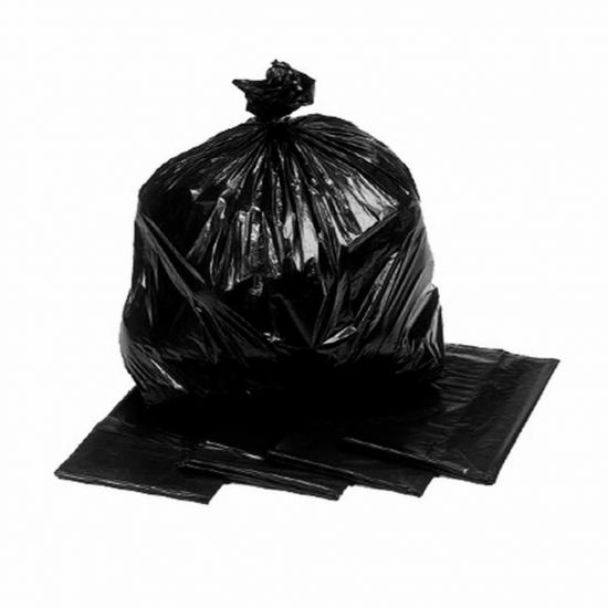 Black Medium Duty 18x29x39 Inch Bin Bags - Box Of 200 WM1002