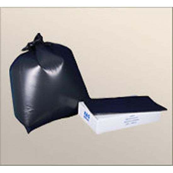 Black Light Duty 18x29x39 Inch Bin Bags - Box Of 200 WM1003