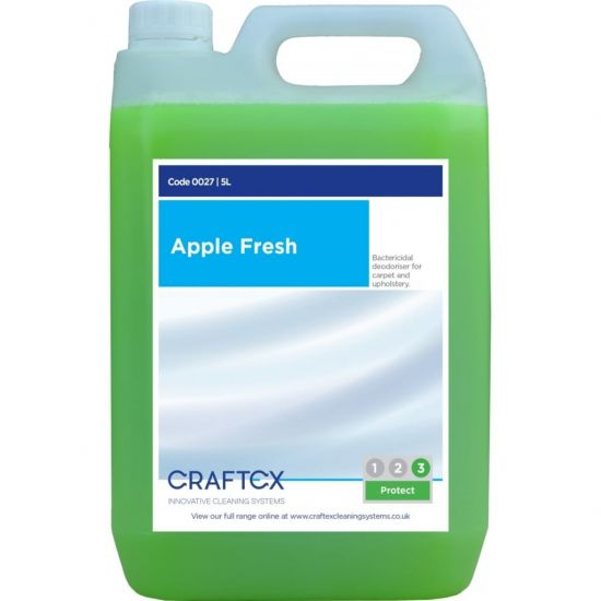 Apple Fresh Scented Re-Odouriser Liquid Concentrate 5lt AC3001
