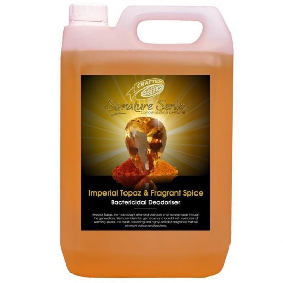 Imperial Topaz & Fragrant Spice Scented Re-Odouriser Liquid Concentrate 5lt AC3002