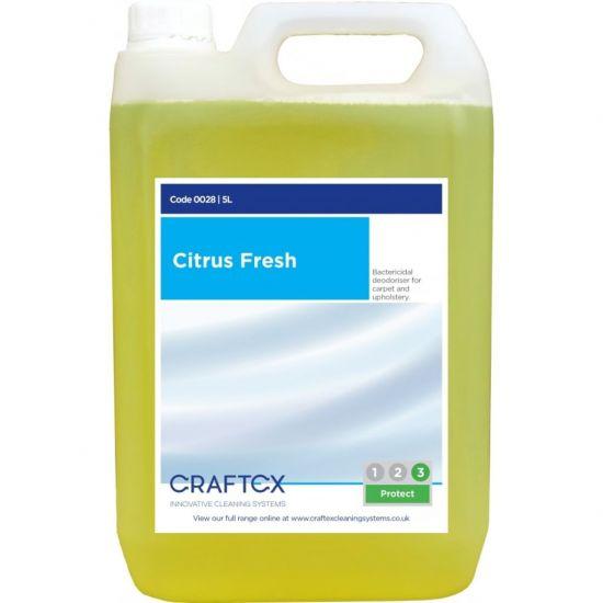 Citrus Fresh Scented Re-Odouriser Liquid Concentrate 5lt AC3003