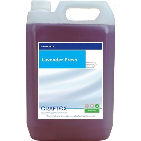 Lavender Fresh Scented Re-Odouriser Liquid Concentrate 5lt AC3006