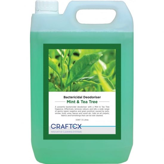 Mint & Tea Tree Scented Re-Odouriser Liquid Concentrate 5lt AC3008