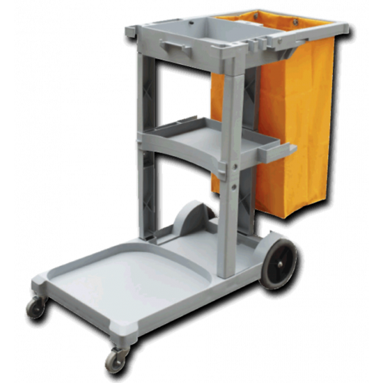 Professional Janitors  / Housekeepers  Cleaning Trolley JE6008
