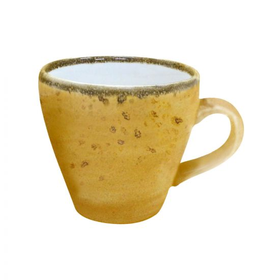 Java Decorated Espresso Cup Sunrise Yellow 8cl 2.8oz Qty 12 IG 01101HSY