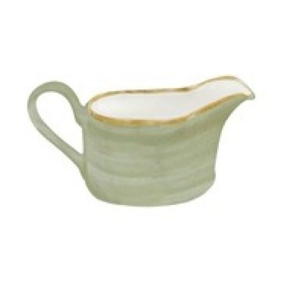 Java Decorated Sauce Boat Meadow Green 36cl 12.7oz Qty 6 IG 01561MG