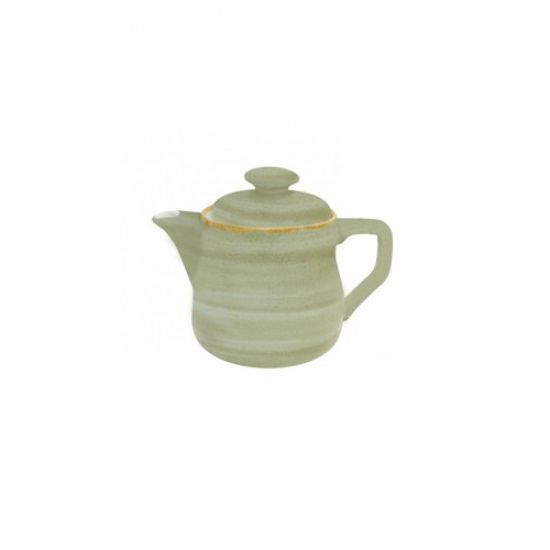 Java Decorated Teapot Meadow Green 46cl 16oz Qty 4 IG 01663/4HMG