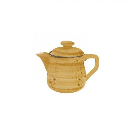 Java Decorated Teapot Sunrise Yellow 46cl 16oz Qty 4 IG 01663/4HSY