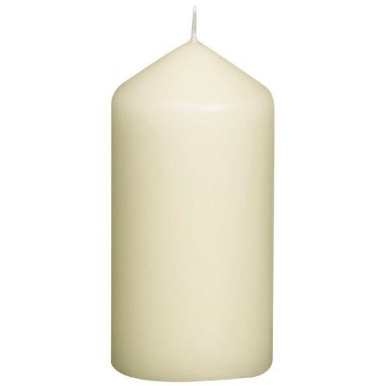 Ivory Pillar Candle 78x120mm 74 Hour Qty 10 IG 3614390105