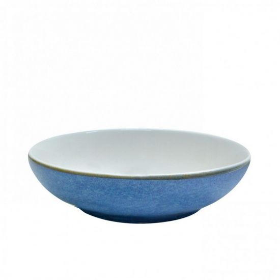 Java Decorated Salad Bowl Horizon Blue 22.5cm 9 Inches Qty 6 IG 36840HB