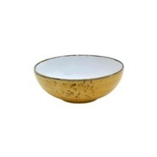 Java Decorated Salad Bowl Sunrise Yellow 22.5cm 9 Inches Qty 6 IG 36840SY