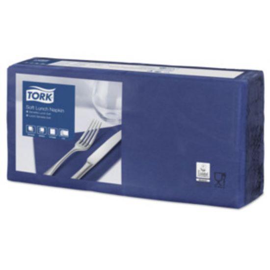 Lunch Napkins 2 Ply 4 Fold 32cm Dark Blue Qty 2000 IG 477412