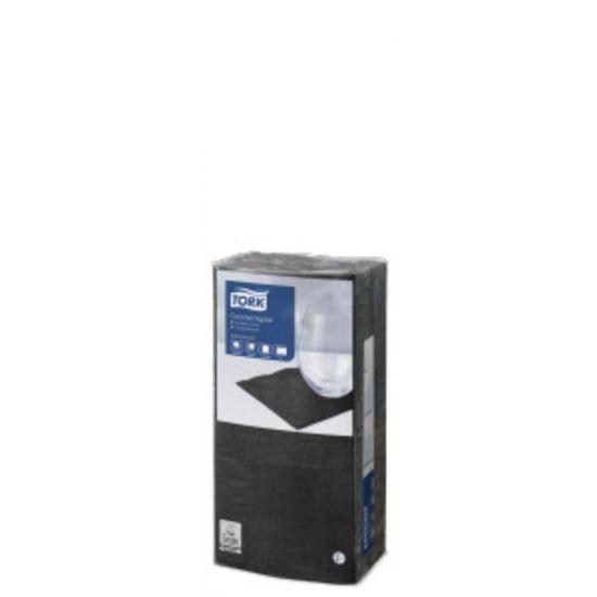 2 Ply Napkin Black 25cm Qty 2400 IG 477821