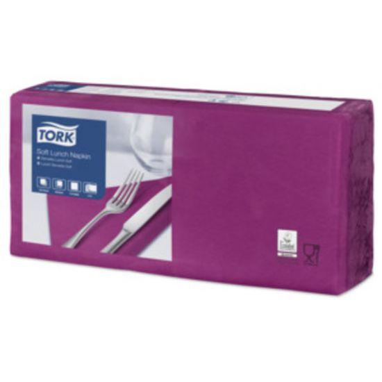 Lunch Napkins 2 Ply 4 Fold 32cm Purple Qty 2000 IG 477865