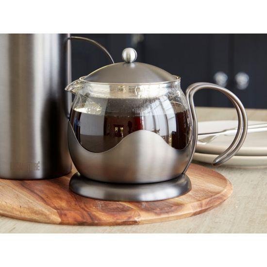 La Cafetiere Edited 4 Cup Le Teapot, Gun Metal GreyIG 5233023