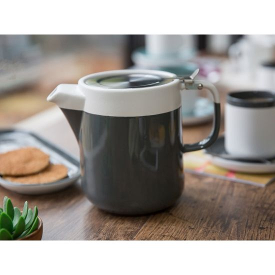 La Cafteiere Barcelona Teapot Cool Grey IG C000431