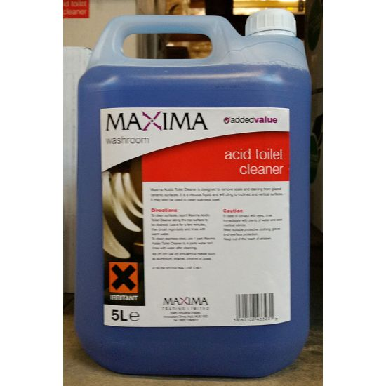 Maxima Phos Acid Toilet Cleaner 5L IG H34MAX