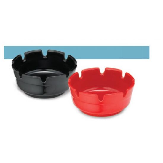 Stacking Deepwell Ashtray Black 3.00x1.75 Inches IG ST363B-1