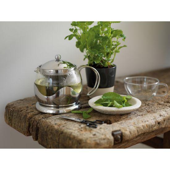 La Cafetière 2 Cup Le Teapot, Stainless Steel, Gift Boxed IG TM970000