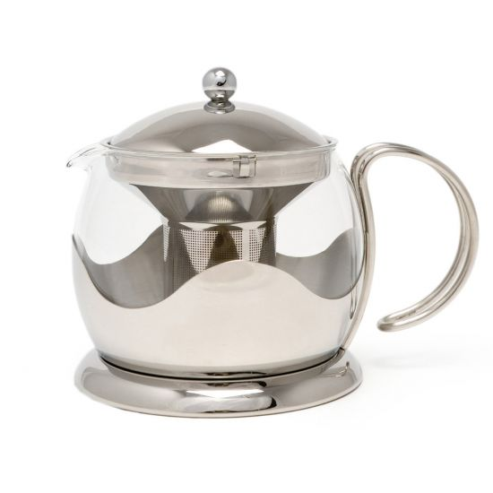 La Cafetiere 4 Cup Le Teapot, Stainless Steel, Gift Boxed IG TM980000