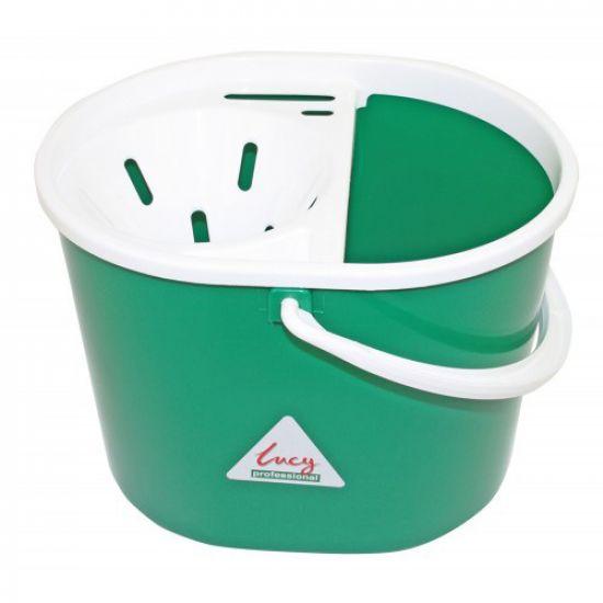 Lucy Mop Bucket Complete Hygiene Green 6 Litre IG L1405293