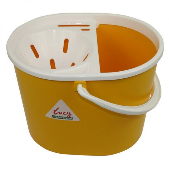 Lucy Mop Bucket Complete Hygiene Yellow 6 Litre IG L1405294