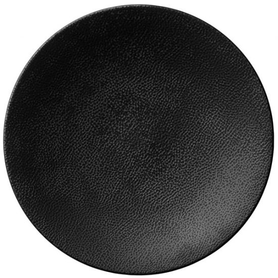 Luzerne Leather Round Coupe Plates 23.5cm Qty 6 IG LT6110023