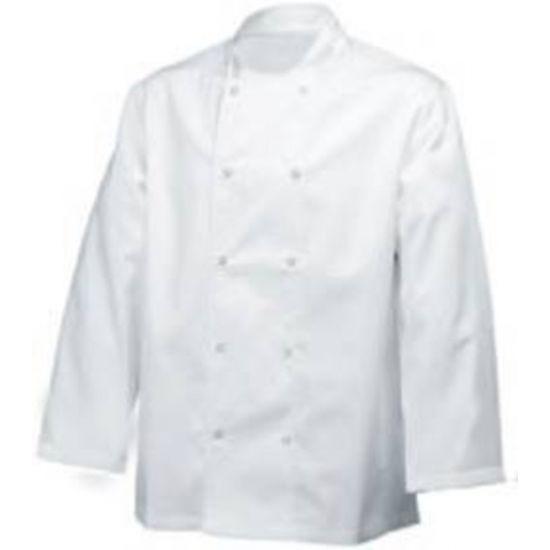Long Sleeve Basic Jacket White L IG PEGA101/L