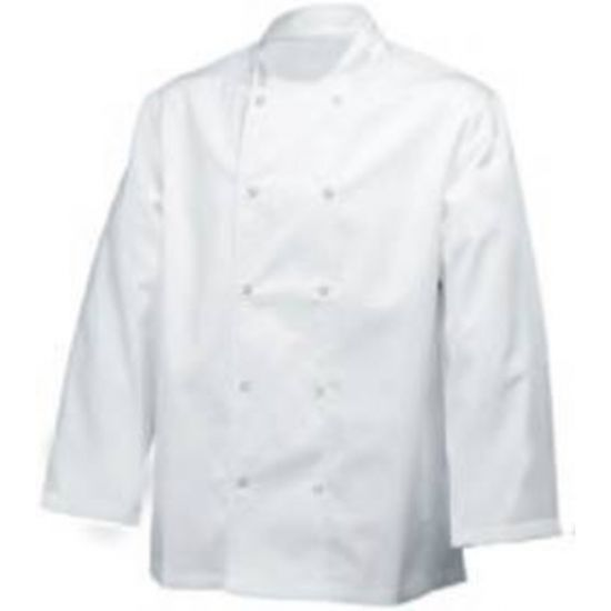 Long Sleeve Basic Jacket White S IG PEGA101/S