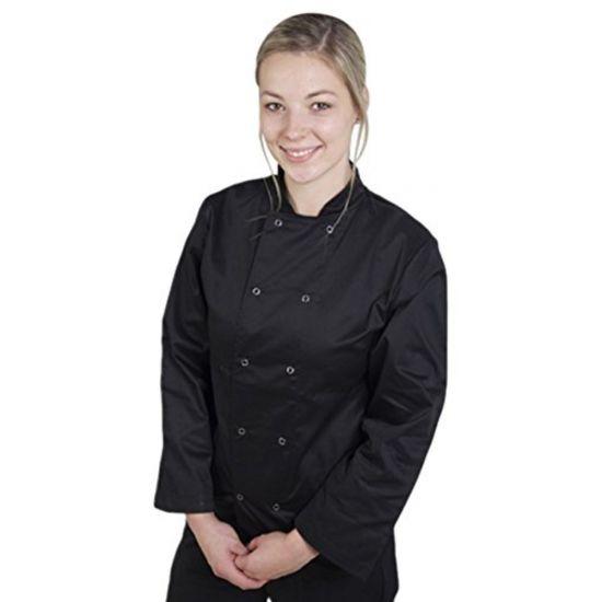 Basic Black Stud Long Sleeve Jacket XXL IG PEGA103/XXL