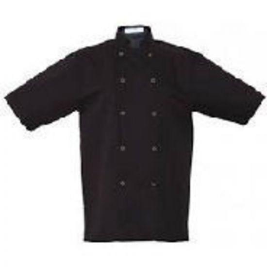 Basic Black Stud Short Sleeve Jacket L IG PEGA104/L