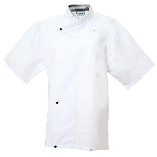 White Coolmax Pullover Jacket With Mesh Back L IG PEGA106/L