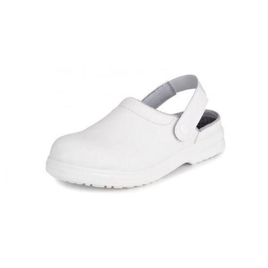 Safety Clogs White Size 11 IG SRC02-11