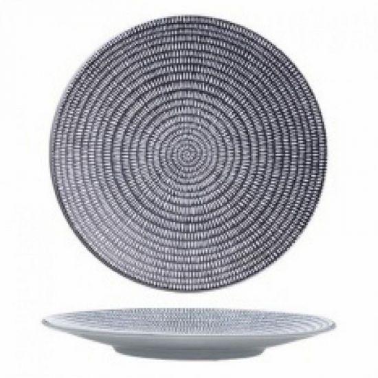 Luzerne Urban Round Coupe Plates 23.5cm Qty 6 IG UB6110023-ST