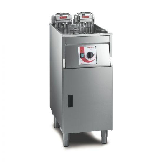 FriFri Super Easy 411 Electric Free-standing Single Tank Fryer - 2 Baskets - W 400 Mm - 15.0 KW LIN 650124-B500