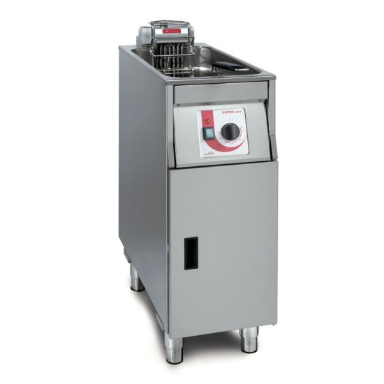 FriFri Super Easy 311 Electric Free-standing Single Tank Fryer With Filtration - 1 Basket - W 300 Mm - 11.4 KW LIN 651132-A500