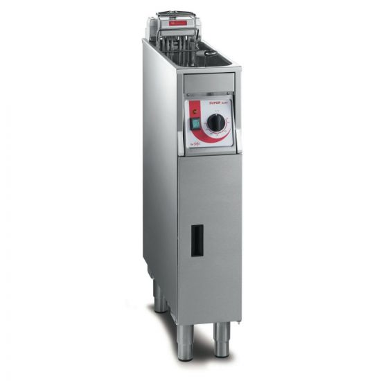 FriFri Super Easy 211 Electric Free-standing Single Tank Fryer With Filtration - 1 Basket - W 200 Mm - 11.0 KW LIN 651134-A500