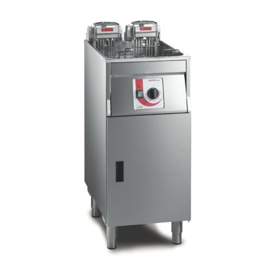 FriFri Super Easy 411 Electric Free-standing Single Tank Fryer With Filtration - 2 Baskets - W 400 Mm - 22.0 KW LIN 651136-B500
