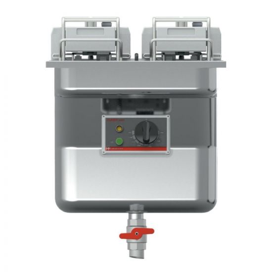FriFri Super Easy 411 Electric Built-in Single Tank Fryer With Filtration - 2 Baskets - W 400 Mm - 15.0 KW LIN 671124-B700