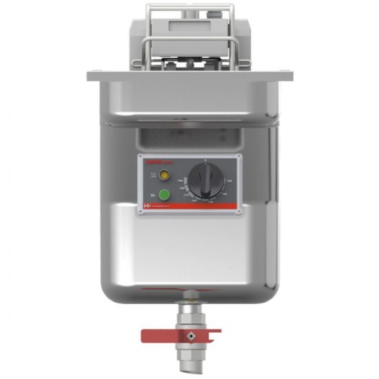 FriFri Super Easy 311 Electric Built-in Single Tank Fryer With Filtration - 1 Basket - W 300 Mm - 11.4 KW LIN 671132-A700