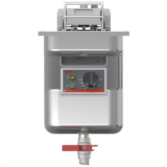 FriFri Super Easy 311 Electric Built-in Single Tank Fryer With Filtration - 1 Basket - W 300 Mm - 15.0 KW LIN 671133-A700