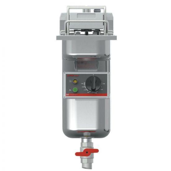 FriFri Super Easy 211 Electric Built-in Single Tank Fryer With Filtration - 1 Basket - W 200 Mm - 11.0 KW LIN 671134-A700