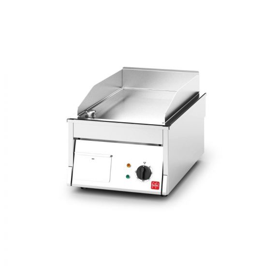 FriFri Electric Counter-top Griddle - W 400 Mm - 4.3 KW LIN 700000