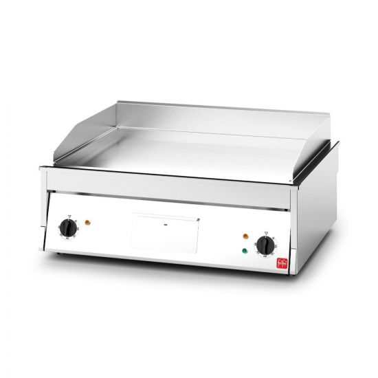 FriFri Electric Counter-top Griddle - W 800 Mm - 8.6 KW LIN 700002